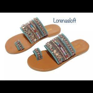 🥂HP🥂Boho Artisanal Sandals FlipFlops